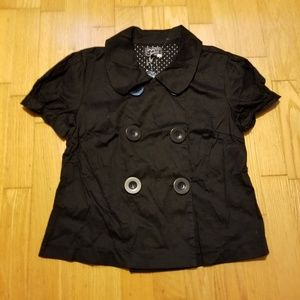 Ashley Large Button Double Breasted Jacket